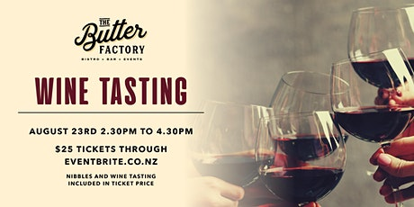Wine Tasting with Villa Maria at Butters tickets