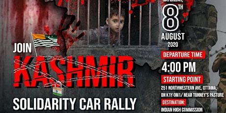 Kashmir Solidarity Car Rally tickets