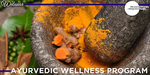 Webinar: Ayurvedic Wellness Program