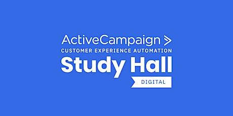 ActiveCampaign CXA Study Hall Digital Series Español (octubre) entradas