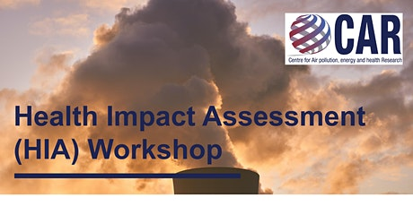 Health Impact Assessment (HIA) Workshop tickets