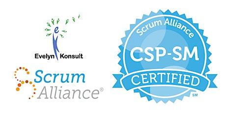 Virtual Certified Scrum Professional - ScrumMaster (CSP-SM) tickets