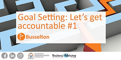 Goal setting: Let's get accountable - Session 1 tickets
