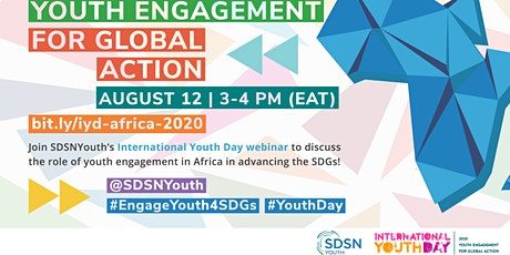 High-Level Event on Youth and Sustainable Development in Africa Webinar tickets