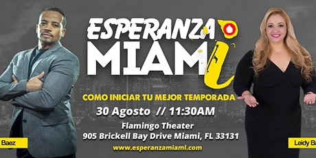 Esperanza Miami tickets