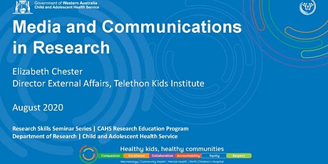 Research Skills Seminar: Media and Communications in Research  - 28 Aug tickets