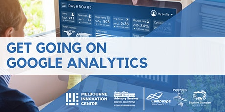 Get Going on Google Analytics - Campaspe, Pyrenees & Southern Grampians tickets