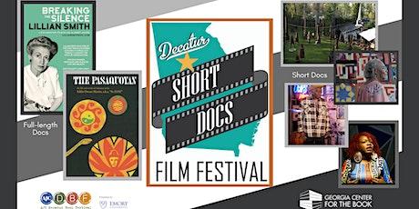 2020 Decatur Short Docs Film Festival Screening  Weekend 4 tickets
