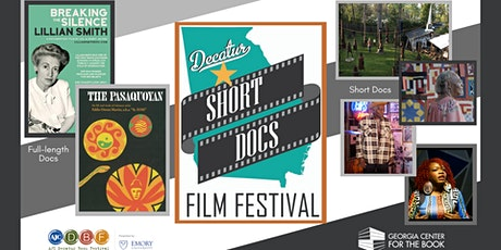 2020 Decatur Short Docs Film Festival Screening  Weekend 1-TALKBACK tickets