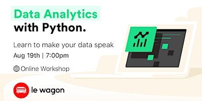 Data+Analytics+with+Python+-+Online+Workshop