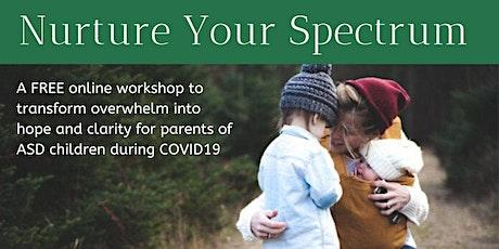 Nurture your Spectrum 2020b – workshop for parents with Autistic kids tickets