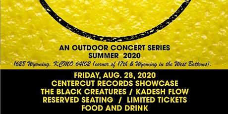 CENTERCUT RECORDS SHOWCASE: THE BLACK CREATURES  / KADESH FLOW tickets