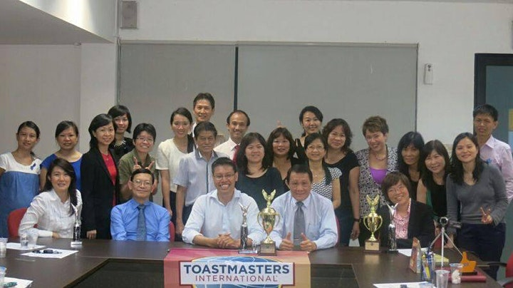 Practise Public Speaking with Toastmasters@CBD FREE (UP: $5) image