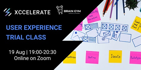 Brain Gym Series: Intro to User Experience trial class tickets