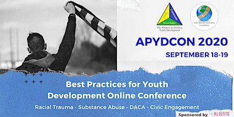 APYDCON 2020:  Best Practices for Youth Development Online Conference tickets