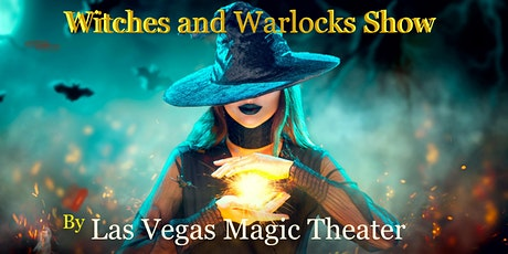 Witches and Warlock Magic Show at Las Vegas Magic Theater tickets