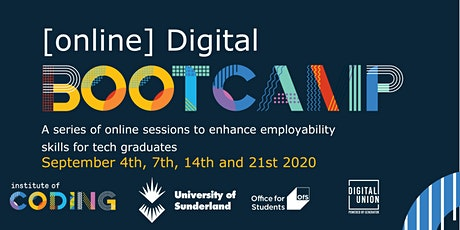 Online Digital Bootcamp tickets