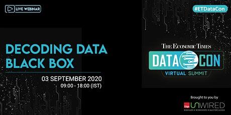 The Economic Times DataCon Virtual Summit tickets