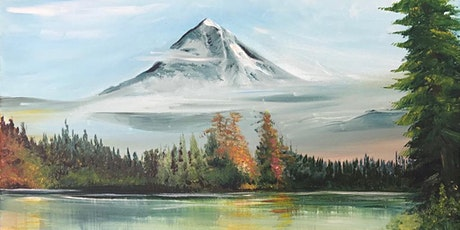 Chill & Paint Sat Afternoon  Auck CBD - Mountain & Lake - Bob Ross Inspired tickets