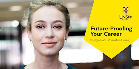 Future-Proofing Your Career: Postgraduate Information Evening tickets