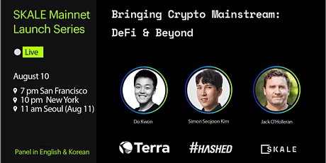 Bringing Crypto Mainstream : DeFi & Beyond tickets