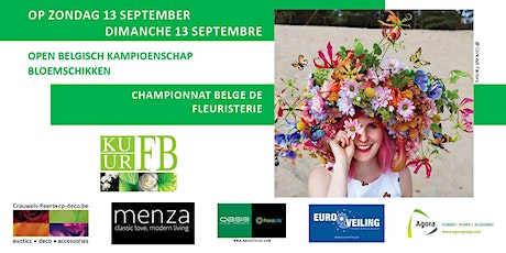 Belgian Championship of Floristry - SUNDAY13/09/2020 - TICKETS : 10 EUR tickets