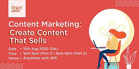 Content Marketing: Create Content That Sells tickets