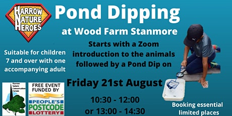 Pond Dipping tickets
