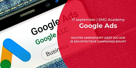 SMG Academy | Googe Ads Basistraining| 17 sept 2020 tickets
