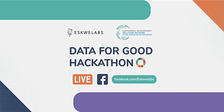 Data for Good Hackathon Showcase | Facebook Live Stream tickets