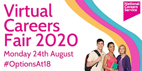 Virtual Careers Fair 2020 - Options at 18