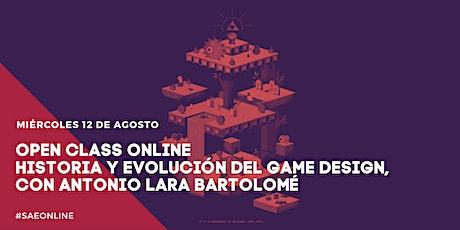 Open Class Online   Historia y evolución del game design entradas