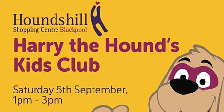 Harry Hound September Kids Club tickets