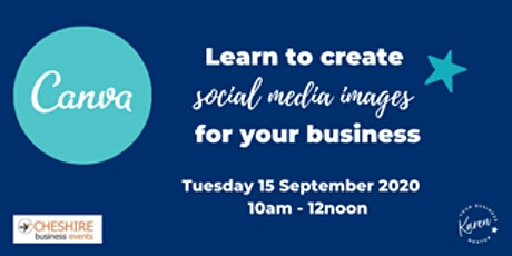Create social media images for your business ONLINE tickets