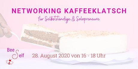 Networking Kaffeeklatsch by BeeSelf für Selbstständige & Solopreneure Tickets