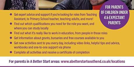 A Better Start Southend - Work Skills - Careers in Education Week tickets
