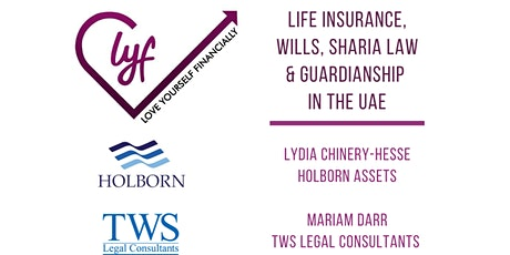 Life Insurance, Wills, Sharia Law and Guardianship tickets