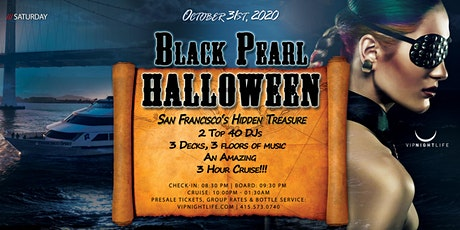 Pier Pressure Black Pearl - SF Halloween Yacht Party tickets