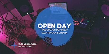 Open Day | Producción de Música Electrónica y Urbana entradas