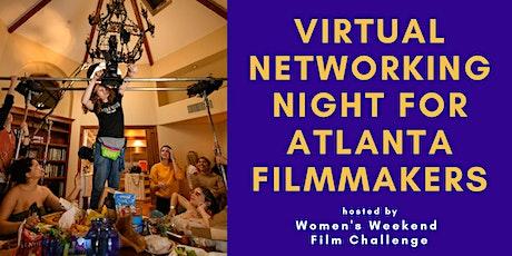 Virtual networking night for Atlanta filmmakers tickets