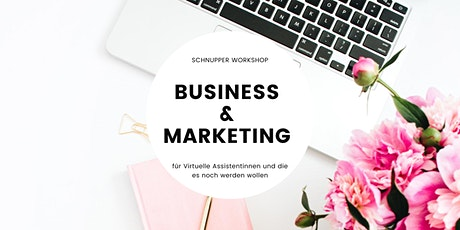 Schnupper Workshop Business & Marketing für Virtuelle Assistentin Tickets