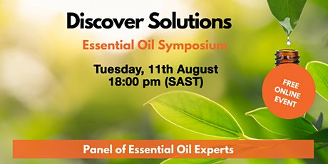 Discover Soloutions: Essential Oil Symposium tickets