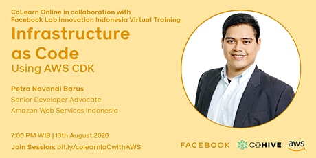 CoLearn Online Infrastructure as Code using AWS CDK tickets