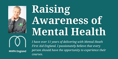 Adult Mental Health First Aid (MHFA) - Online tickets
