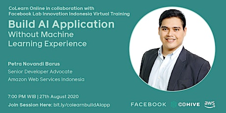 CoLearn Online Build AI Application without Machine Learning Experience tickets