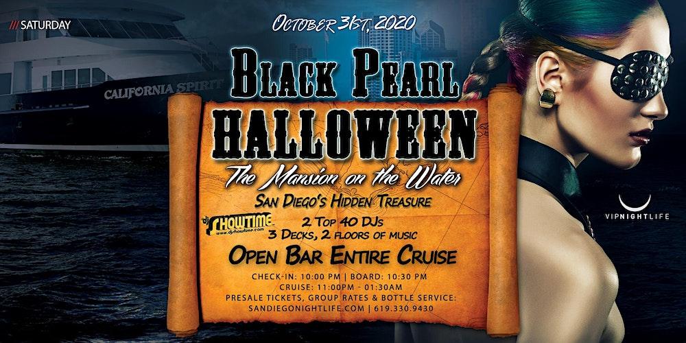 Halloween Cruise 2020 San Diego San Diego Halloween Black Pearl Yacht Party Tickets, Sat, Oct 31