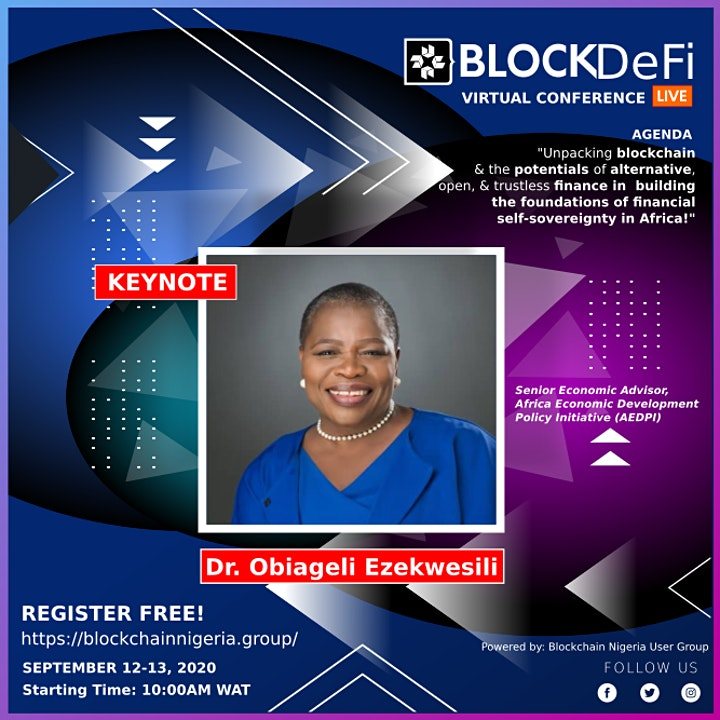 BLOCKDeFi Virtual Conference & Exhibition  2020 image