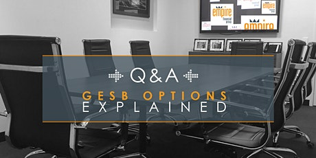 GESB Options Explained - The Tax Planning Miracles GESB Funds Can Perform tickets