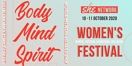 Body Mind Spirit for SHE tickets