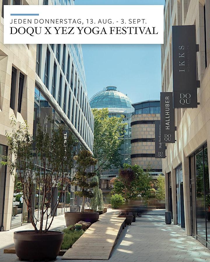 DOQU x YEZ - Sundowner Yoga Flow: Bild